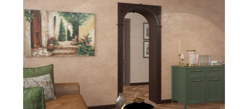 Дверные арки и порталы ПВХ