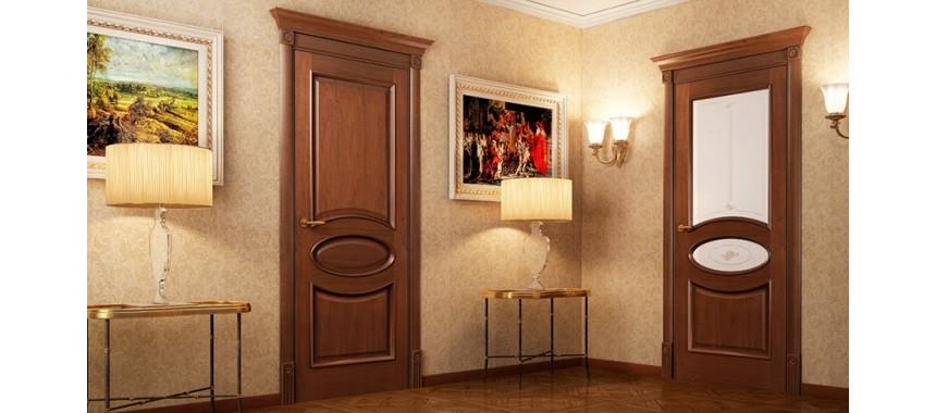 Межкомнатные двери Евро Шпон