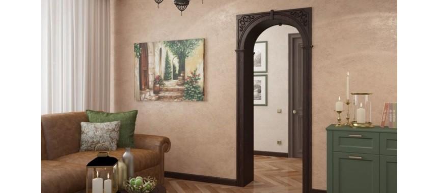 Дверные арки и порталы DIY Экошпон