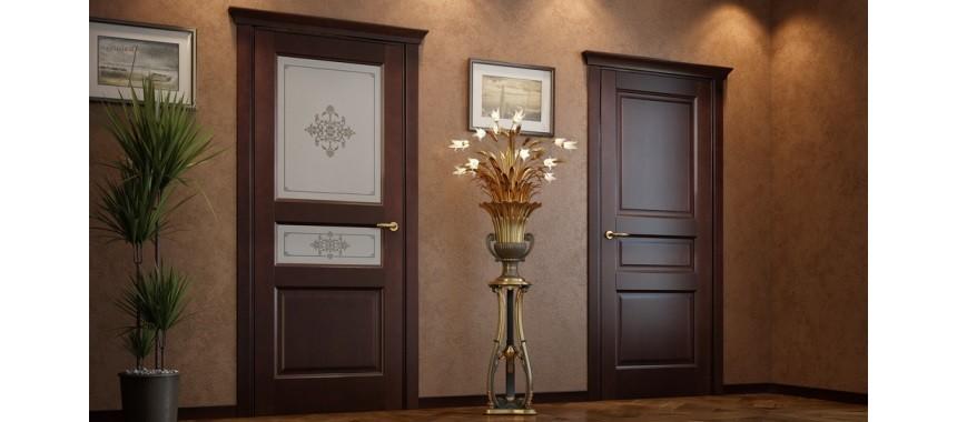 Межкомнатные двери из массива Классические