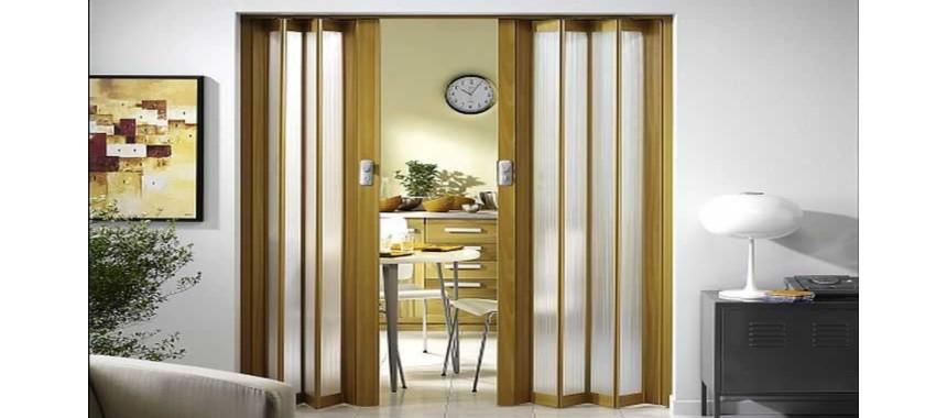 Складные двери ПВХ (гармошки)
