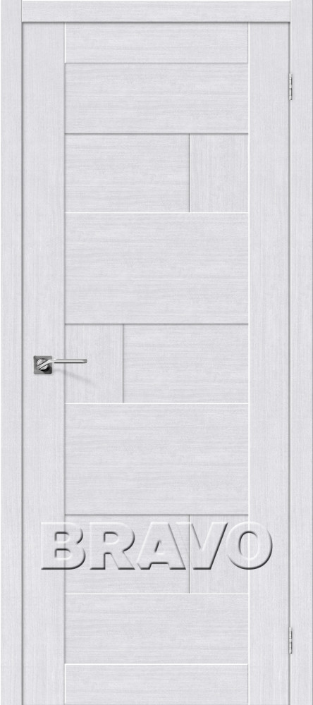 Межкомнатная дверь глухая Легно-38 Milk Oak