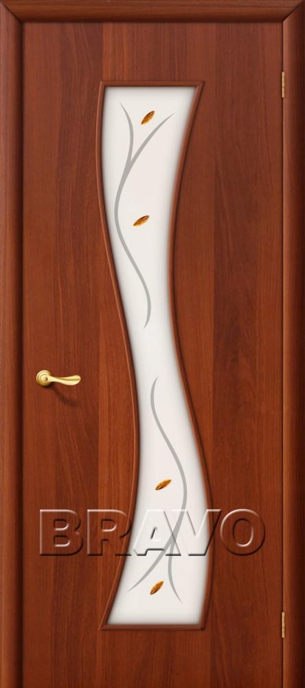 Межкомнатная ламинированная дверь 11Ф итальянский орех