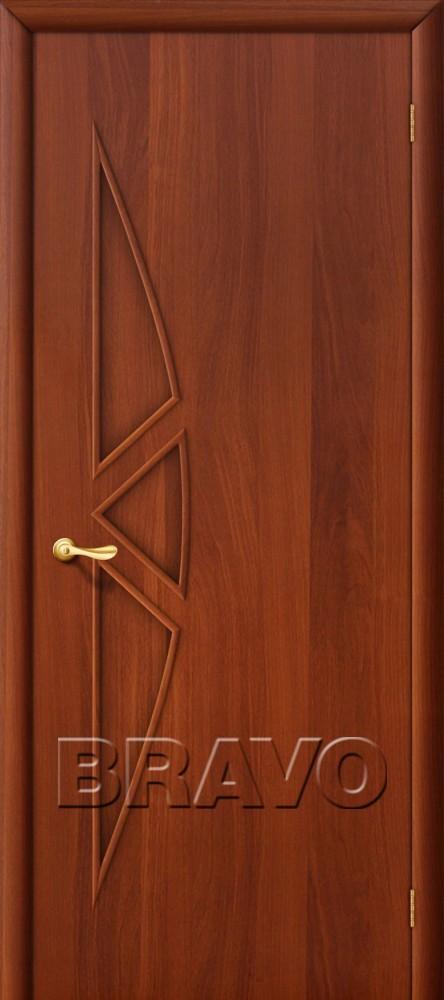 Межкомнатная ламинированная дверь 15Г итальянский орех