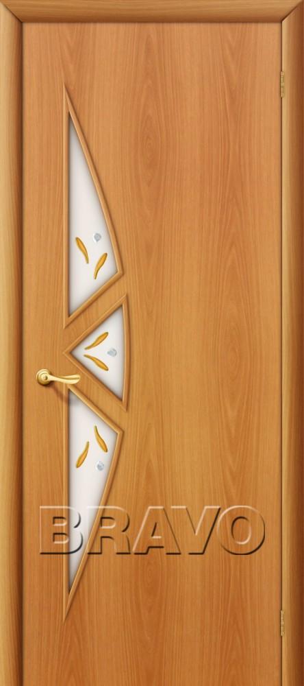 Межкомнатная ламинированная дверь 15Ф миланский орех