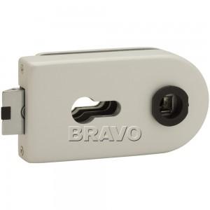 Замок Bravo MP-600-CL AL Алюминий